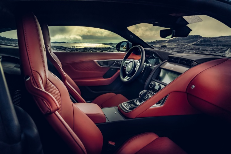 2020-Jaguar-F-Type-P300-Interior-Red-1