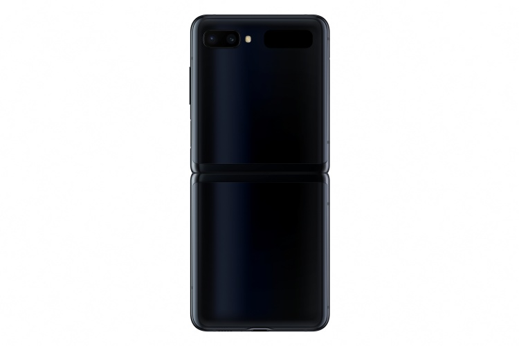 Samsung-Galaxy-Z-Flip-mirror-black-unfolded-back